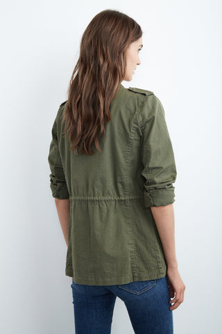 RUBY ARMY JACKET IN FOREST
