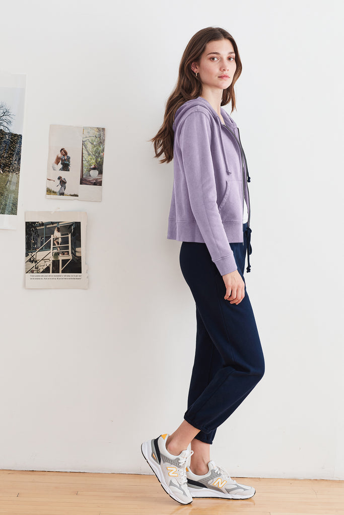 DAPHNE VINTAGE FLEECE JOGGERS IN MIDNIGHT