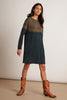 PRICILLA ATHLEISURE DRESS IN GREEN