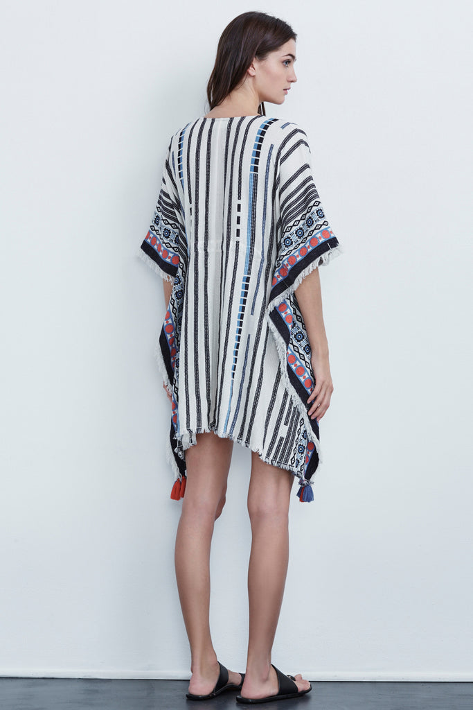 ADALINA TASSEL COVER UP IN MULTI