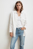 RIVKA COTTON CANVAS BUTTON-UP JACKET IN BEACH