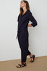 SAYLOR COTTON POPLIN JUMPSUIT IN INK