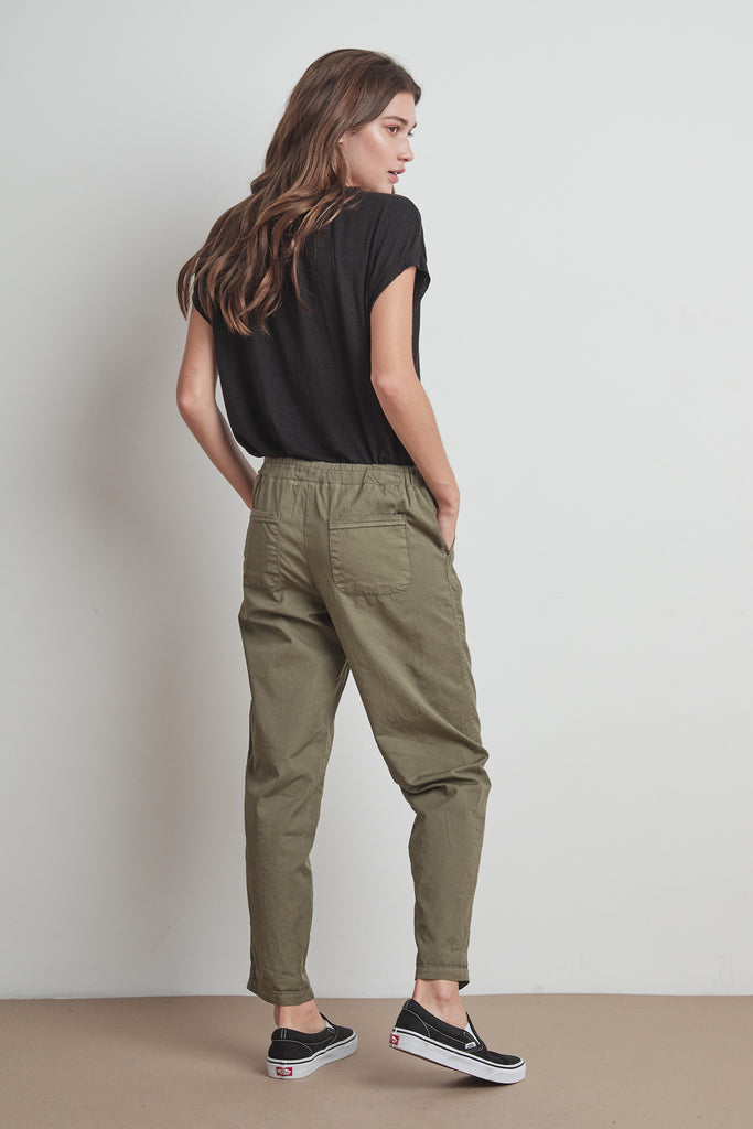 MISTY PANT COTTWILL IN FOREST