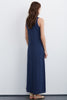 RIKERA COTTON SLUB MAXI DRESS IN CAYMAN