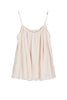DAISY COTTON GAUZE TANK IN SCALLOP