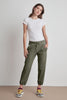DAPHNE VINTAGE FLEECE JOGGERS IN OLIVE