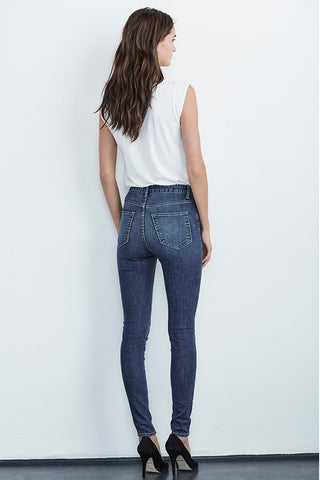 LILLY HIGH RISE JEAN IN CLASSIC BLUE