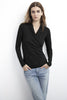MERI GAUZY WHISPER CLASSICS TOP IN BLACK