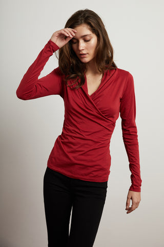MERI GAUZY WHISPER CLASSICS TOP IN LANTERN