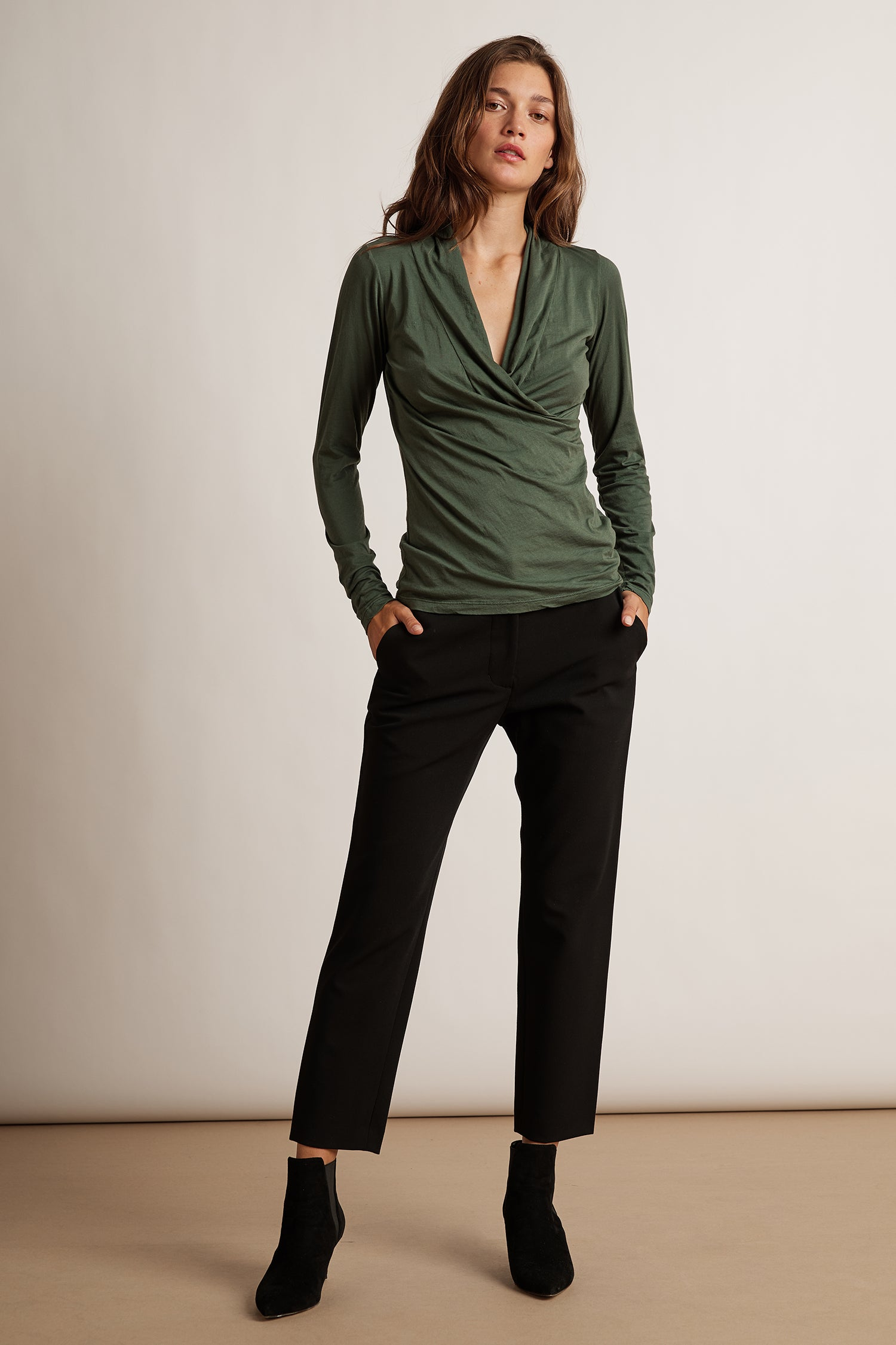 LISA BRENLEY PANTS PANT IN BLACK