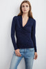 MERI WRAP FRONT TOP IN MIDNIGHT