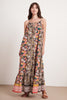 SIMONA JAIPUR BLOCK PRINT DRESS IN MULTI