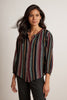 ALICIA LUREX STRIPE BLOUSE IN MULTI