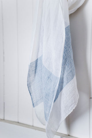 Once Was Lost Marlo SCARF in Azure Blue