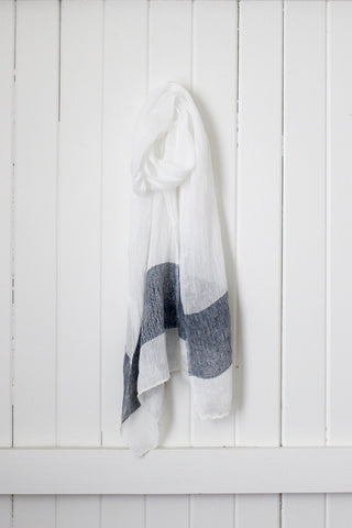 Once Was Lost Marlo SCARF in Indigo