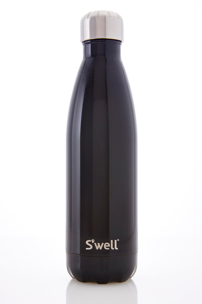 S'well 17oz Beverage Bottle in Midnight Black