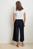 MIRTA COTTON CANVAS WIDE LEG PANT IN POSTMAN