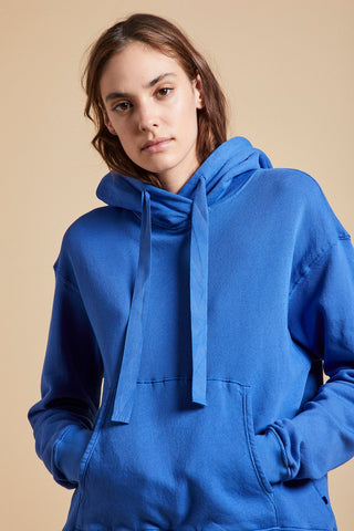 OJAI ORGANIC COTTON HOODIE IN ANCHOR