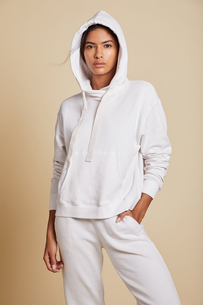 OJAI ORGANIC COTTON HOODIE IN BEACH