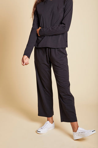 PISMO ORGANIC COTTON PANT IN BLACK