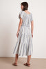 TIAN STRIPE JACQUARD DRESS IN OCEAN