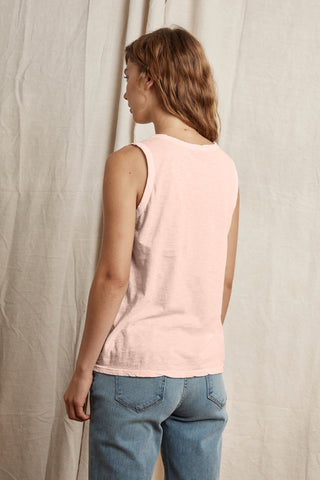 TAURUS COTTON SLUB TOP IN BUBBLE