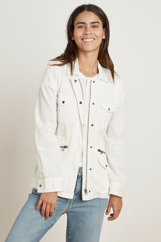 RUBY ARMY JACKET IN BEACH