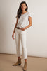 TWIGGY HIGH RISE CROP JEAN IN SALT