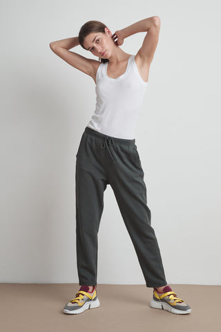 BESSY VINTAGE FLEECE JOGGER IN CANNON