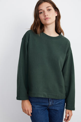 RUDY VINTAGE FLEECE SWEATSHIRT IN JUNGLE