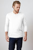 SKEETER WHISPER CLASSIC CREW NECK TEE IN WHITE