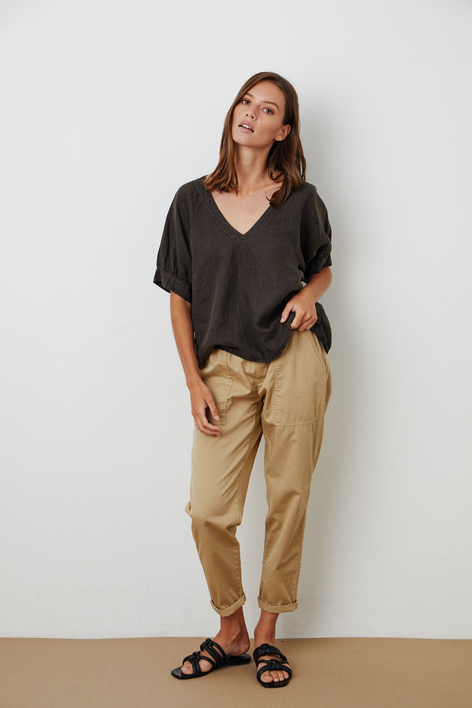 MISTY PANT COTTWILL IN SAND