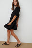BERNICE LINEN DRESS IN BLACK