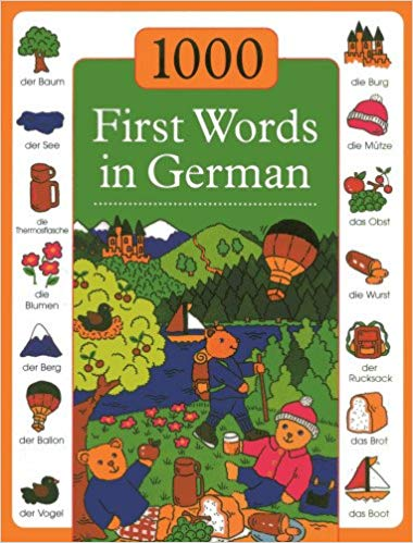 1000 First Words in German (German-English)