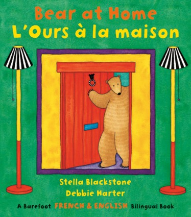 Bear at home - L'ours  a la maison (French-English)