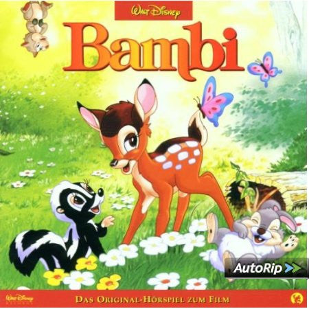 Bambi-Disney film horspiel , audio CD  (German)