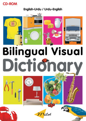 Milet Bilingual Visual Dictionary - Book & interactive Cd (Vietnamese-English)