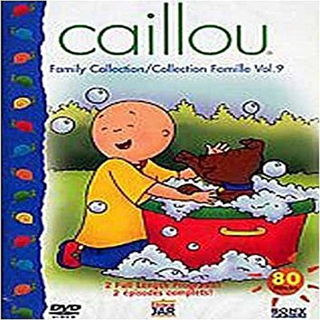 Caillou - Collection Famille vol. 9, DVD (French, English ... Caillou Family Collection 9 1