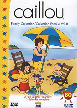 Caillou - Collection Famille volume 8 (French, English DVD)