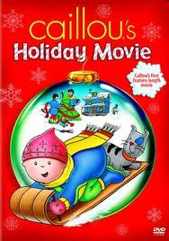 Caillou's Holiday Movie -DVD (English, French, Spanish)