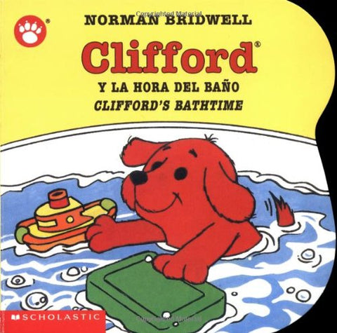 Clifford y la hora del Bano - Cliford Bathtime (Spanish)