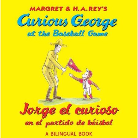 Jeorge el curioso en el partido de béisbo - Curious George at the Baseball Game (Spanish-English)