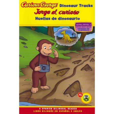 Jorge el curioso huellas de dinosaurio - Curious George Dinosaur Tracks (Spanish-English)