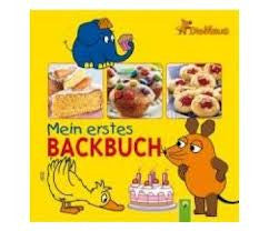 German Children's Book: Die Maus - Mein erstes Backbuch (German)