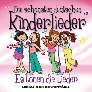 German Children's Songs CD: Die schönsten deutschen Kinderlieder-Beautiful german songs for children,vol.1 (German)