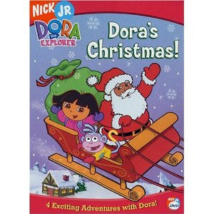 Dora's Christmas-Dora the Explorer , DVD (English,Spanish)