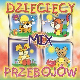 Dzieciecy mix przebojow- Popular children's songs, music CD (Polish)