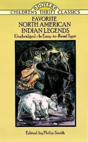 Favorite North American Indian Legends (English)