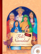 Feliz Navidad: Learning Songs and Traditions in Spanish, Book + CD (Spanish-English)
