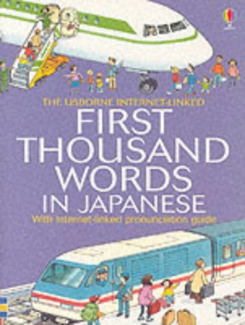 First 1000 Words: Japanese (Mini Book) (Japanese-English)